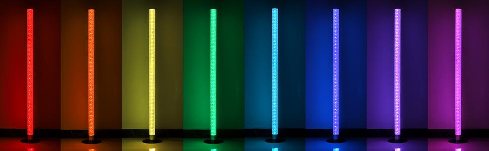 Dimmable Modern Led Corner Lamps for Living Room
