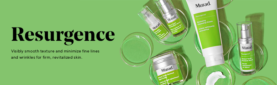 Resurgence collection, anti-aging, minimize fine lines, skin firming