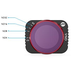 Pgytech Vnd Filter 6 To 9 Stops For Mavic Air 2 Camera Photo