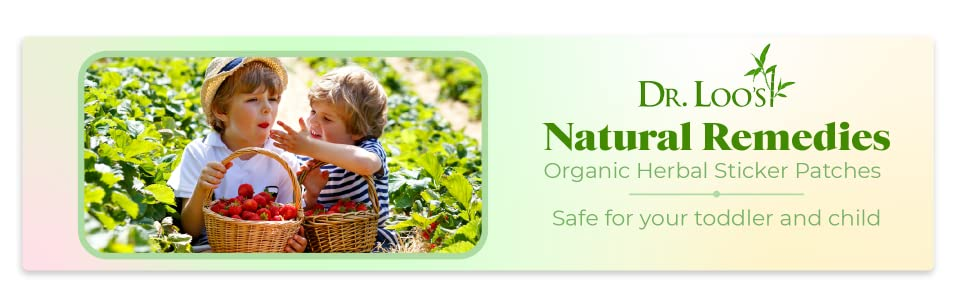natural remedies organic herbal sticker patches