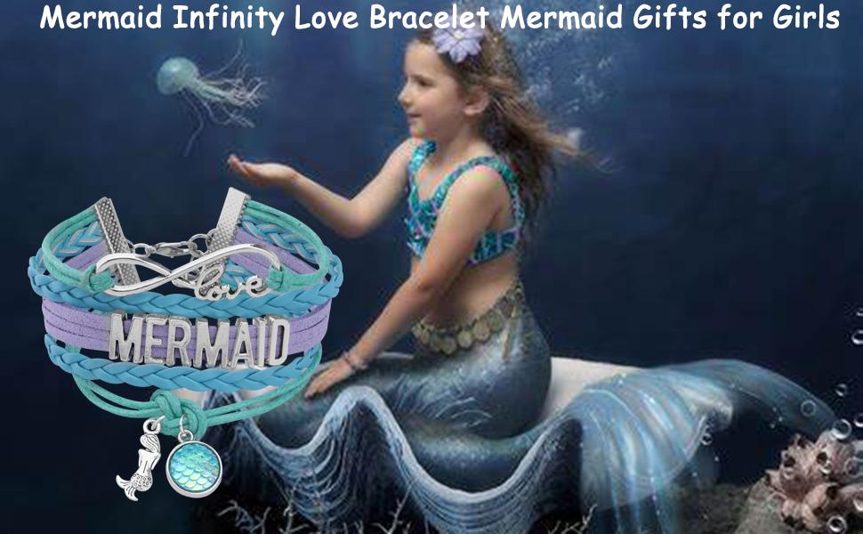 Fairy tale Mermaid Jewelry Gifts Beach Style Mermaid Theme Gift Pretty Mermaid gift