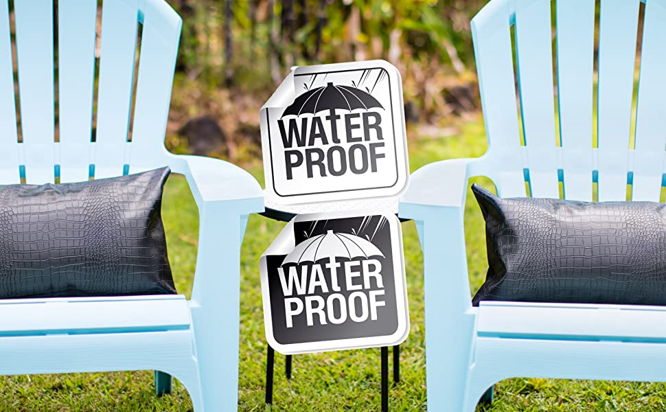 waterproof pillow cushion for the outdoors