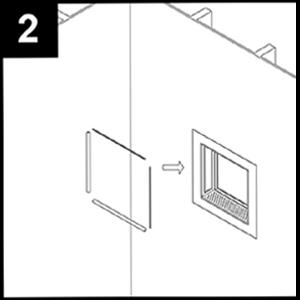 shower niche installation instructions step 2