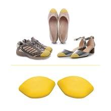 Medium is best for half-size bigger shoe
