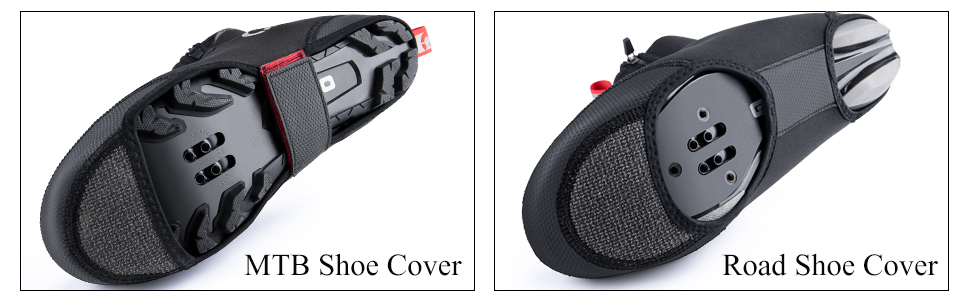 CC/_ WATERPROOF SILICONE CYCLING LOCK SHOES COVERS BICYCLE OVERSHOES PROTECTOR SM
