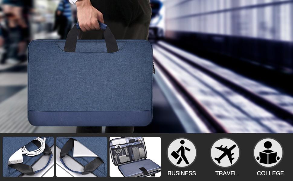 15.6 inch Laptop Briefcase with Organizer