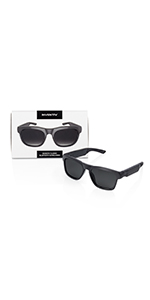 classic grey lenses bluetooth sunglasses glasses music