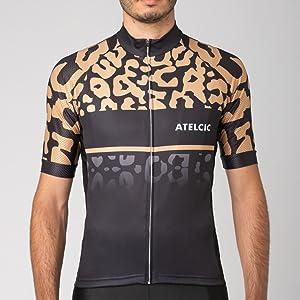 spinning ciclismo su strada a maniche corte estiva Atelcic Maglia per ciclismo per uomo e donna mountain bike