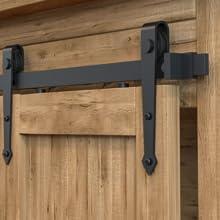 super mini barn door hardware details