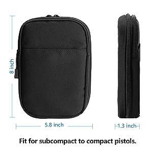 Handgun Case Waist Bag