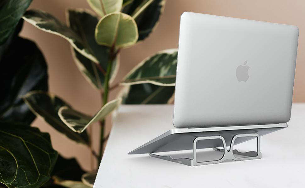 Support pour ordinateur portable compact Riser