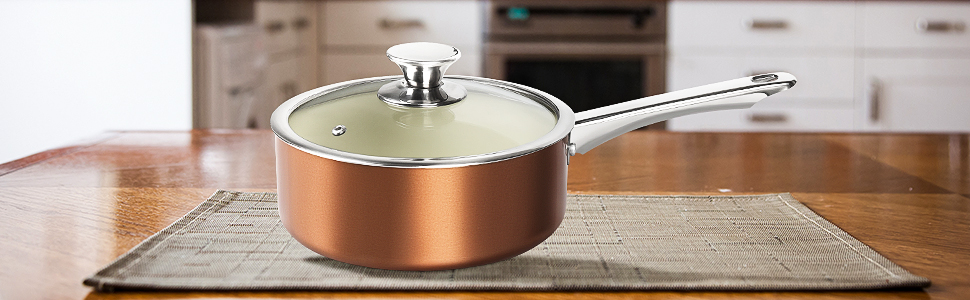 FRUITEAM POT ANS PAN SET NONSTICK