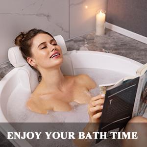 Enjoy bubble bath womens tub pillows head support tub pillows