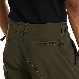 2 Rear Zip Pockets