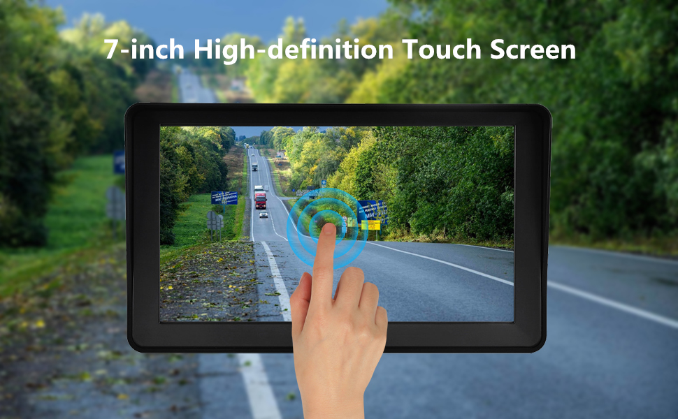 Touch Screen Control Easy to use