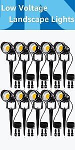 low voltage wire connector Landscape lighting