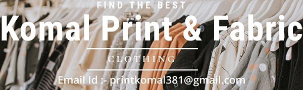 Komal Print And Fabric