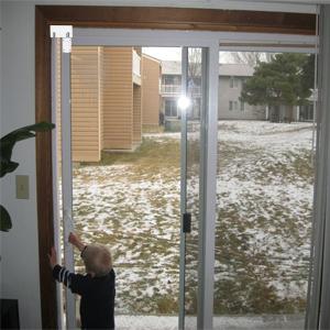 childproof patio door lock