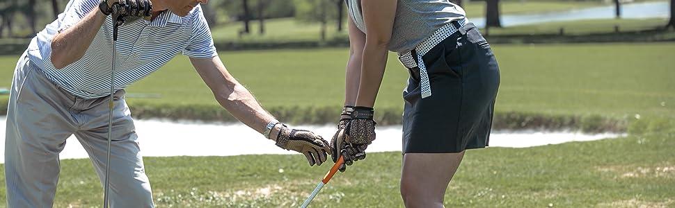 powerhandz weighted glove full width image