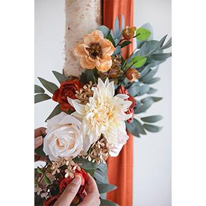 wedding arch flower