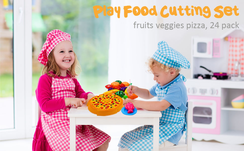 24 pack cutting fruits veggies pizzas
