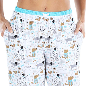 Capri and Pants Pajama Pockets