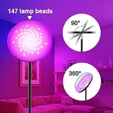 147 Lamp Bead Of Floor Light