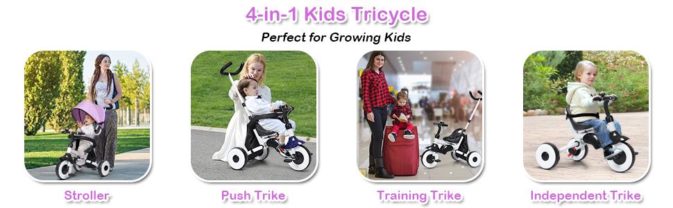 stroller push trike traning trike independent trike