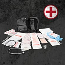 first aid kit safety medic medical emergency prepareness surivival banage redcross doctor advanced