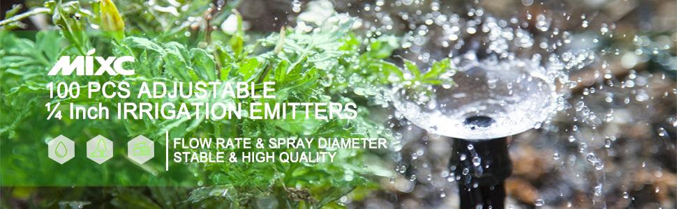 100 pcs irrigation emitters