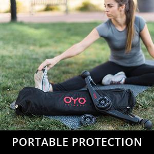 oyo fitness shoulder bag portable protection