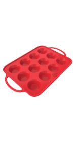 silicone muffin pan, cupcake pan, muffin tin, muffin pan 12 cups, muffin pans silicone non stick