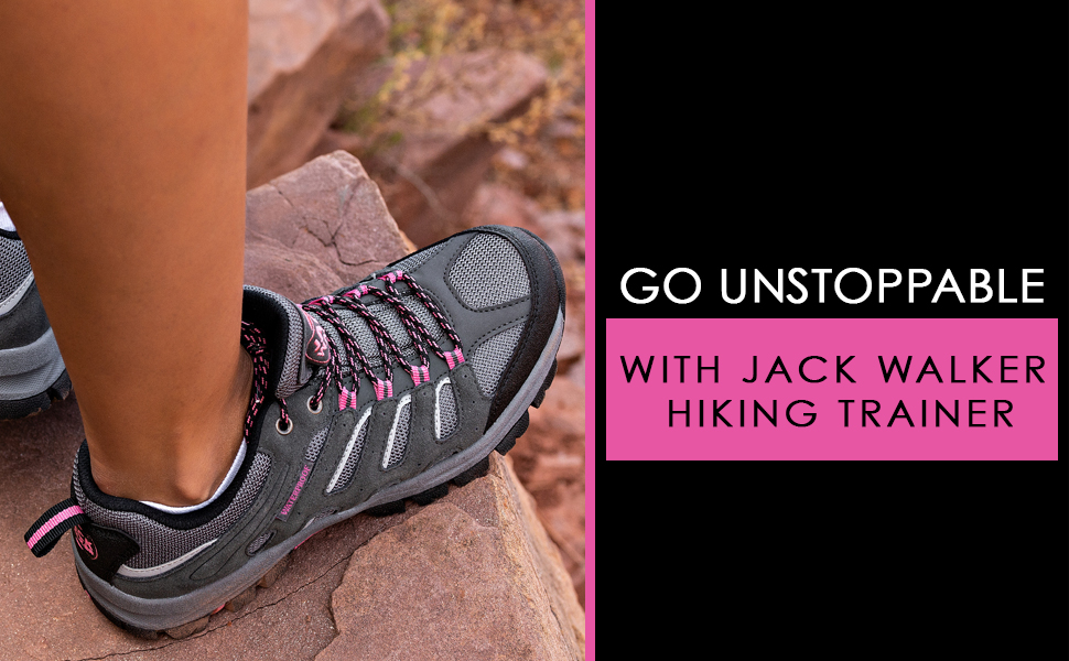 These women's hiking trainers will let you go on an outdoor adventure