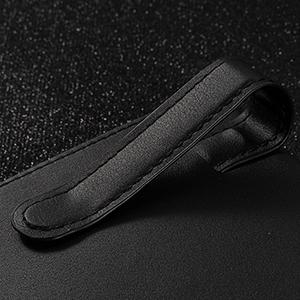 visor tissue holder