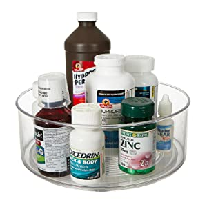 medicine bottles medication space saving organizer creams lotions spice bottles