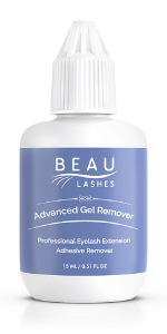 Beau Lashes Eyelash Extension Remover Gel For Professional Lash Artists