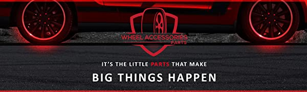 Wheel Accessories Parts, Wheel Locks, its the Little Parts that Make big things happen