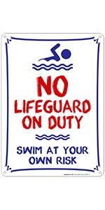 Pool Sign 4