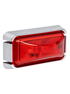 """2.5"""" Red Clearance Marker Light"""