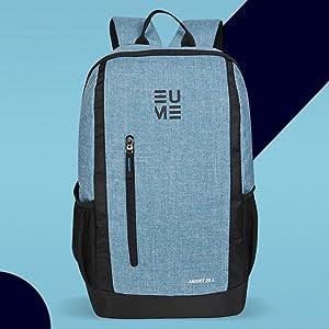 EUME Arriet 25 L Nylon Water Resistant Laptop Backpack