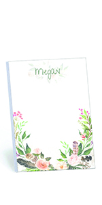 Wrapped in Floral Memo Pads Set of 2