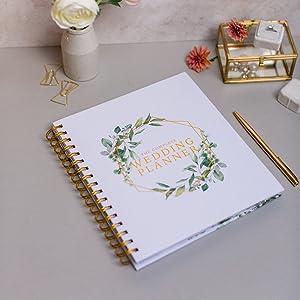 wedding planner organizer journal diary countdown calendar