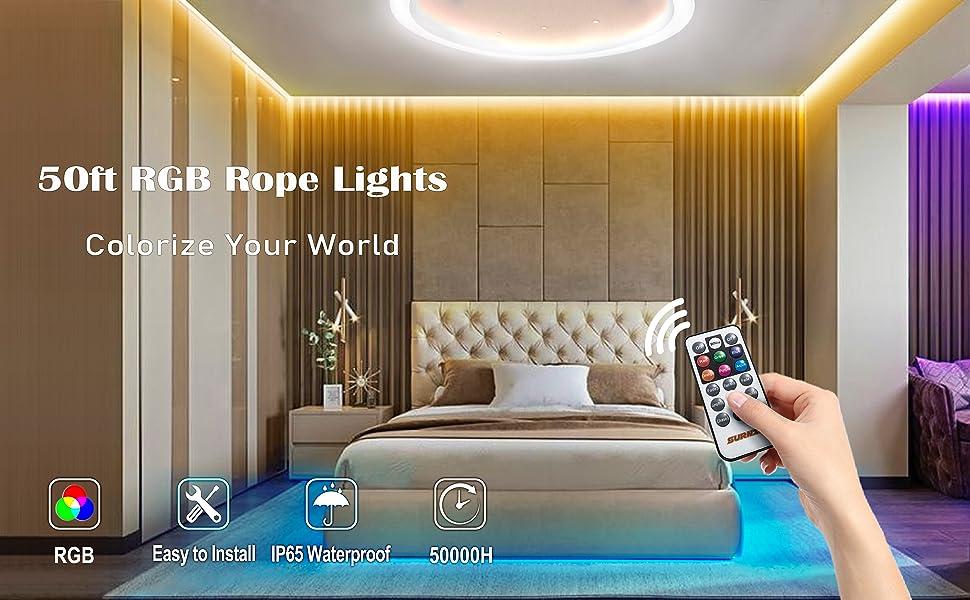rgb strip lights outdoor