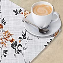 table mats set of 4 plastic place fall round dining man teles para mesa placemats settable