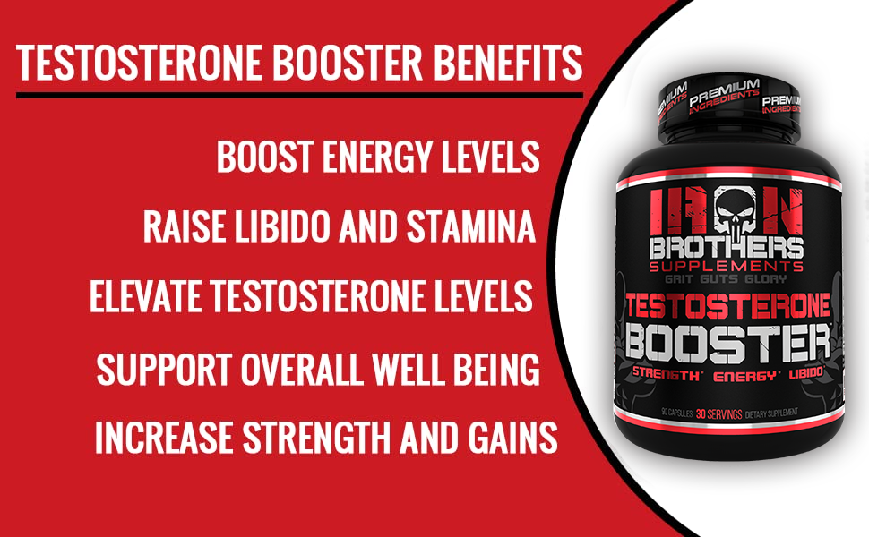 testosterone booster, iron brothers supplements