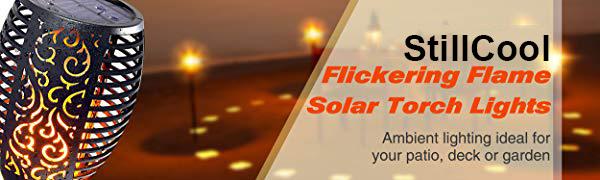 StillCool Solar Flickering Dancing Flame Lights
