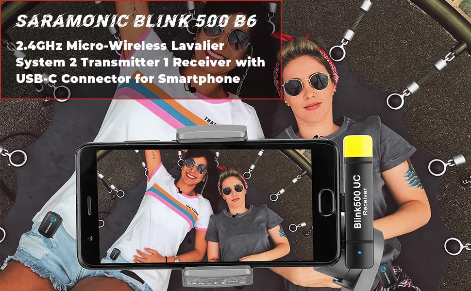 saramonic blink500 wireless lavalier microhpone