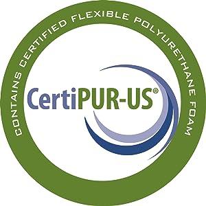 CertiPUR-US certification logo