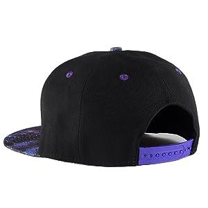Jin JinangSales Gray Snapback Hat Flat Visor Hip Hop Adjustable Cap