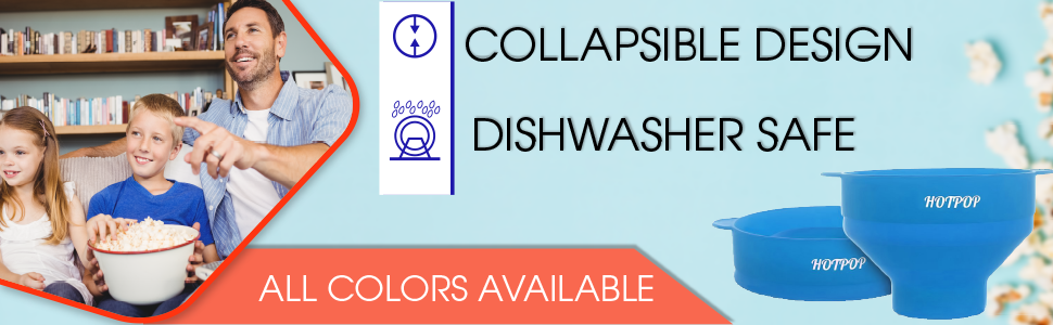 collapsible design dishwasher safe